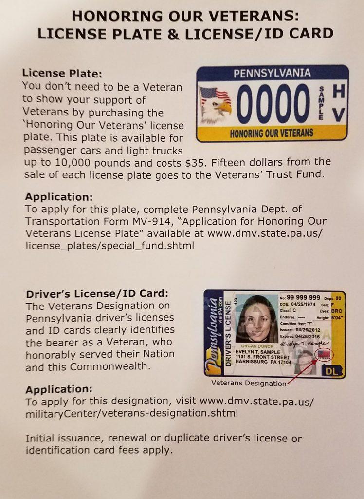 Veteran License Plate/ ID Card | IBEW 375